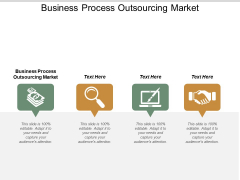 Business Process Outsourcing Market Ppt PowerPoint Presentation Gallery Introduction Cpb