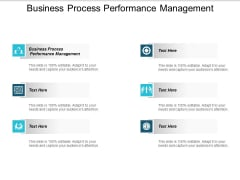Business Process Performance Management Ppt PowerPoint Presentation Outline Graphics Pictures Cpb