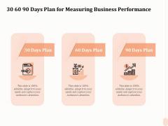 Business Process Performance Measurement 30 60 90 Days Plan For Measuring Business Performance Download PDF