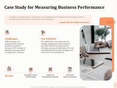 Business Process Performance Measurement Case Study For Measuring Business Performance Graphics PDF