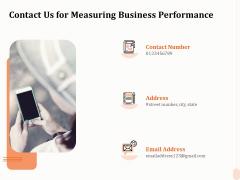 Business Process Performance Measurement Contact Us For Measuring Business Performance Microsoft PDF