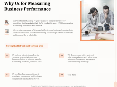 Business Process Performance Measurement Why Us For Measuring Business Performance Microsoft PDF
