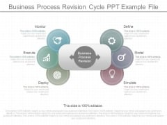 Business Process Revision Cycle Ppt Example File