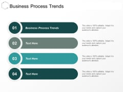 Business Process Trends Ppt PowerPoint Presentation Infographic Template Smartart Cpb