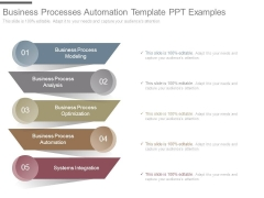 Business Processes Automation Template Ppt Examples