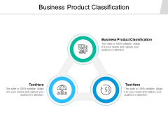 Business Product Classification Ppt PowerPoint Presentation Portfolio Images Cpb