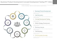 Business Product Development Concept Development Testing Ppt Slides