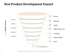 Business Product Development Plan New Product Development Funnel Ppt Inspiration Vector PDF