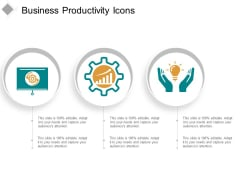 Business Productivity Icons Ppt PowerPoint Presentation Samples