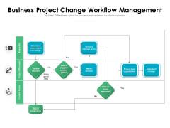 Business Project Change Workflow Management Ppt PowerPoint Presentation File Format PDF