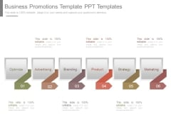 Business Promotions Template Ppt Templates