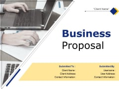 Business Proposal Ppt PowerPoint Presentation Complete Deck With Slides