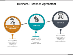 Business Purchase Agreement Ppt PowerPoint Presentation Professional Templates
