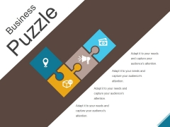 Business Puzzle Ppt PowerPoint Presentation Layouts
