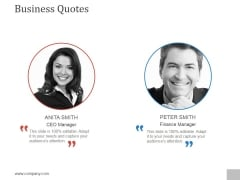 Business Quotes Ppt PowerPoint Presentation Picture