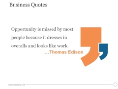 Business Quotes Ppt PowerPoint Presentation Pictures