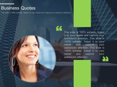 Business Quotes Ppt Slides