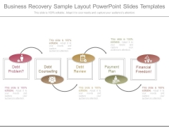 Business Recovery Sample Layout Powerpoint Slides Templates