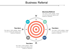 Business Referral Ppt PowerPoint Presentation Show Cpb