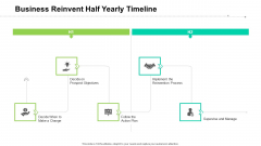 Business Reinvent Half Yearly Timeline Template