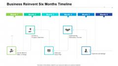 Business Reinvent Six Months Timeline Information