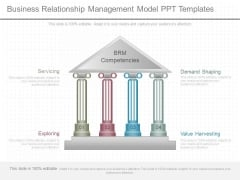 Business Relationship Management Model Ppt Templates
