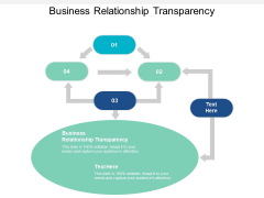 Business Relationship Transparency Ppt PowerPoint Presentation Pictures Graphics Cpb