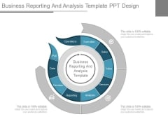 Business Reporting And Analysis Template Ppt Design