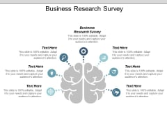 Business Research Survey Ppt PowerPoint Presentation Outline Icons