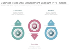 Business Resource Management Diagram Ppt Images
