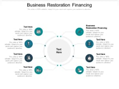 Business Restoration Financing Ppt PowerPoint Presentation Infographic Template Good Cpb Pdf