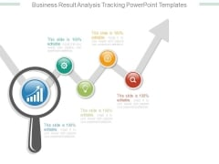Business Result Analysis Tracking Powerpoint Templates