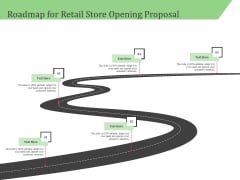 Business Retail Shop Selling Roadmap For Retail Store Opening Proposal Rules PDF
