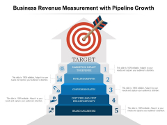 Business Revenue Measurement With Pipeline Growth Ppt PowerPoint Presentation Infographics Visual Aids PDF