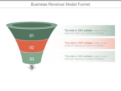 Business Revenue Model Funnel Ppt PowerPoint Presentation Information