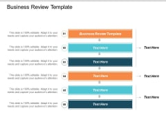 Business Review Template Ppt PowerPoint Presentation Inspiration Deck Cpb