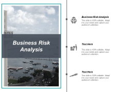 Business Risk Analysis Ppt PowerPoint Presentation Gallery Model Cpb