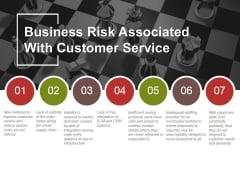 Business Risk Associated With Customer Service Ppt PowerPoint Presentation Show Graphics