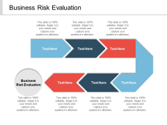 Business Risk Evaluation Ppt PowerPoint Presentation Infographic Template Outfit Cpb