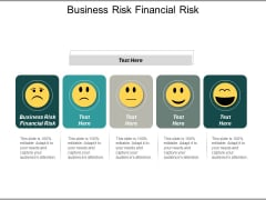 Business Risk Financial Risk Ppt PowerPoint Presentation Professional Slides Cpb