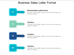 Business Sales Letter Format Ppt PowerPoint Presentation Slides Templates Cpb