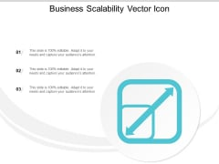 Business Scalability Vector Icon Ppt PowerPoint Presentation Layouts Layout Ideas