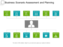 Business Scenario Assessment And Planning Ppt PowerPoint Presentation Icon Gridlines PDF