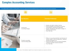 Business Service Provider Complex Accounting Services Pictures PDF