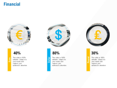 Business Service Provider Financial Infographics PDF