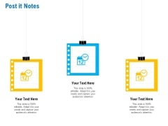 Business Service Provider Post It Notes Introduction PDF