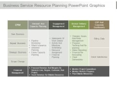 Business Service Resource Planning Powerpoint Graphics