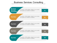 Business Services Consulting Ppt PowerPoint Presentation File Infographics