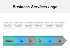 Business Services Logo Ppt PowerPoint Presentation File Images Cpb