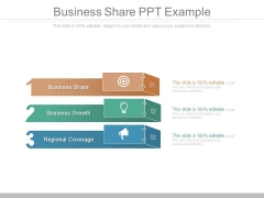 Business Share Ppt Example